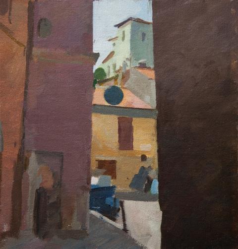 0007the Buildings in Civita Castellana