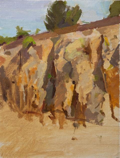 0008 the cliff, civita castellana